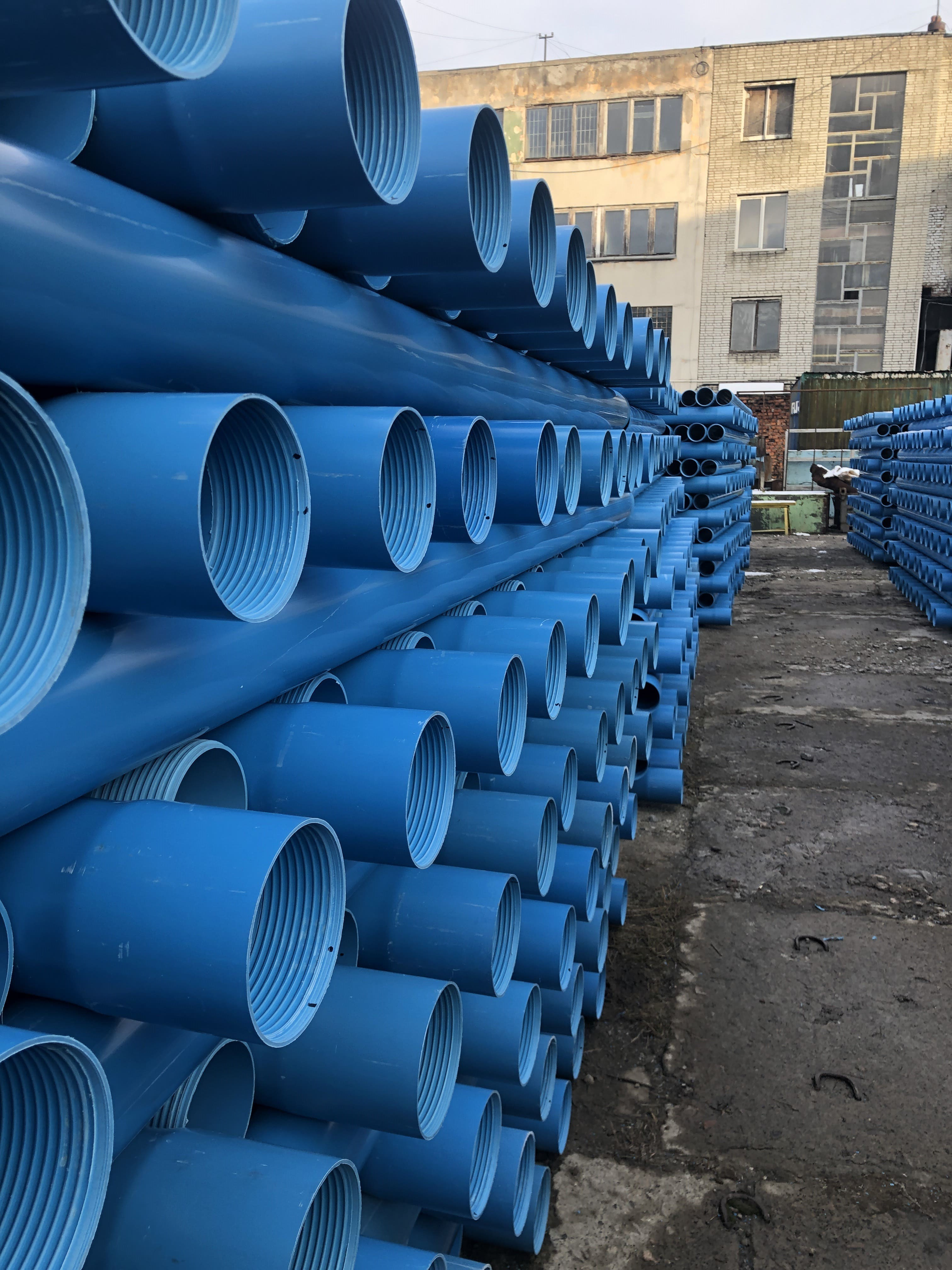 Casing pipe PVC 125mm*7,4mm, buy Casing pipe PVC 125mm*7,4mm 5